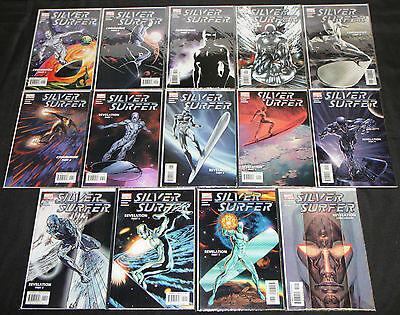 Modern Marvel SILVER SURFER VOL. 5 14pc Count High Grade Comic Lot #1-14
