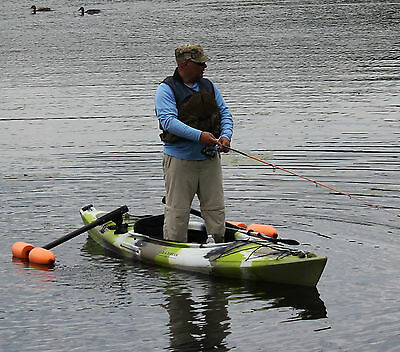 Kayak or Canoe Outriggers / Stabilizers for Sight  Fishing, Standing & Beginners