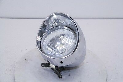 04 Honda VTX 1300 Headlight Headlamp Globe Housing Bezel *SCRAPE