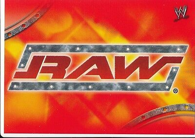 R1 RAW ROSTER CARD 2004 Topps WWE Apocalypse RAW