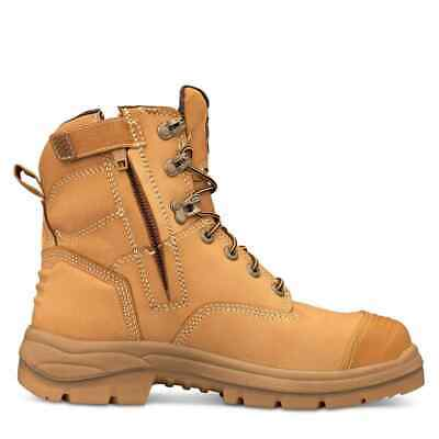 Oliver Work Boots, 55332z, Steel Toe Cap Safety, Side Zip,  STYLE UPDATE!
