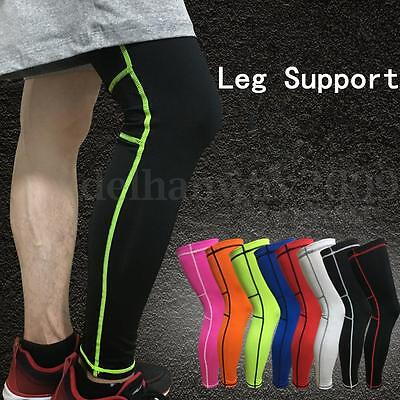 Knee Support Leg Long Sleeve Brace Compression Patella Pain Relief Gym Sports