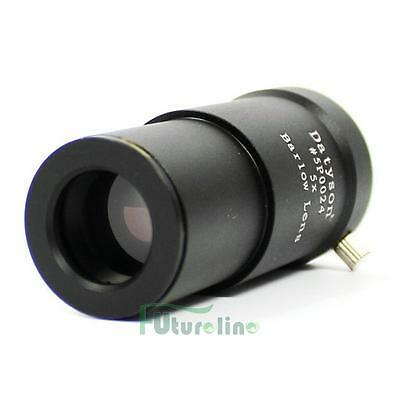 1.25'' 5X Achromatic Barlow Lens M42 Thread for 31.7mm Telescopes Eyepiece UK