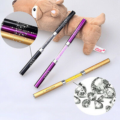 New Acrylic Nail Art UV Gel Crystal Polish Pen Manicure Painting Kolinsky Brush