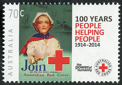 AUSTRALIA 2014 RED CROSS Mint Never Hinged MNH STAMP