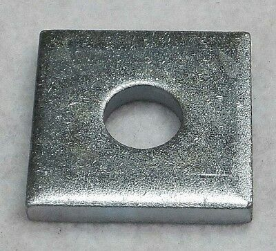 """100 1/2"""" X 1-5/8"""" Square Channel Washer For Unistrut Channel  P1064 Zinc Plated"""