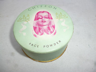 VINTAGE UN-OPENED CHIFFON FACE POWDER by ATKINSONS LONDON & SYDNEY