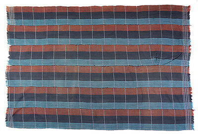Vintage Baule stiped cloth from Cote d'Ivoire, West Africa BL13