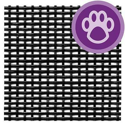 Pet Resist Window Door Screening Charcoal Replacement Heavy Duty Screen Dog Cat