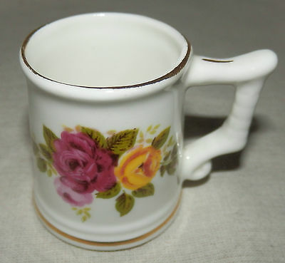 Miniature bone china tankard by Sutherland