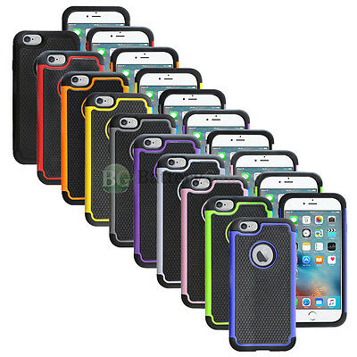 Lot of 10 Hybrid Rugged Rubber Protector Hard Case Cover for Apple iPhone 7 7S