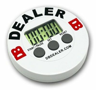 Digital DB Poker Dealer Chip Button Tournament Timer Sit-N-Go  FREE SHIPPING *