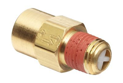 "Control Devices Brass Ball Check Valve 1/4"" NPT Female x NPT Male New"