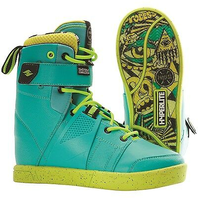 Hyperlite Process Men'S Wakeboard Boots – Color: Green – Size: 10 – New!!!