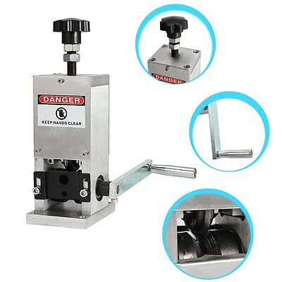 Benchtop Copper Wire Stripping Machine Strip Scrap Cable Stripper Drill Handle