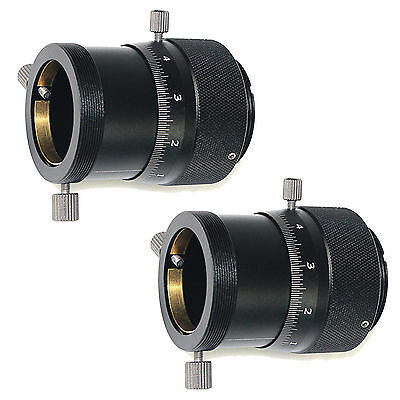 """2X Metal High Precision Double Helical Focuser for 1.25""""Telescope Finderscope"""