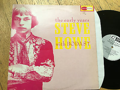 LP Steve Howe With Bodast – The Early Years YES PROG