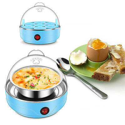 US Plug Multifunction Electric 7 Eggs Boiler Cooker Steamer Kitchen Cooking New