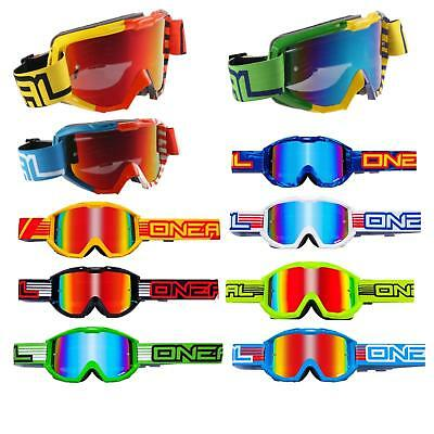 O'Neal B1 Radium MX Goggle Motocross Brille verspiegelt Cross Enduro DH Downhill