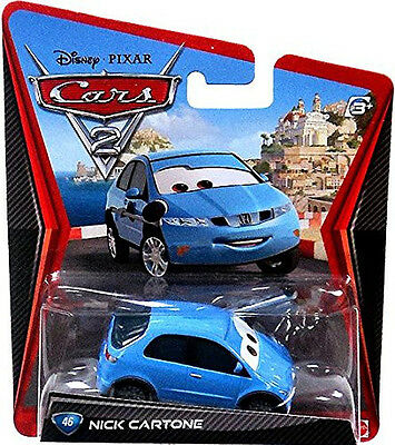 Disney - Cars 2 - Nick Cartone - NEU OVP