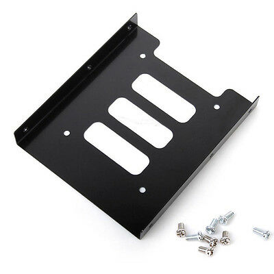 "2.5"" vers 3.5"" SSD HDD Holder Adaptateur Support Disque Dur Hard Drive pr PC CU"