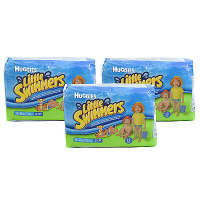 Huggies Little Swimmers - Small (7-12 kg) - Pack of 12