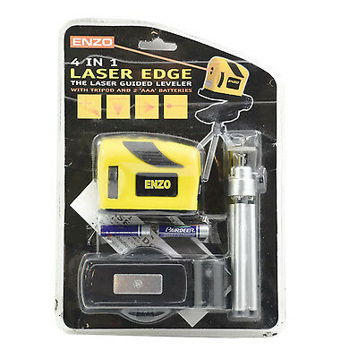 Enzo 4 in 1 Lasel Edge Laser Guided Leveler With Tripod