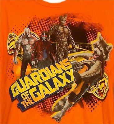 Disney Guardians of the Galaxy t-shirt New Size 4 5-6 7-8 10-12 Starlord Rocket