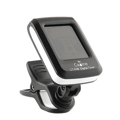 Multifunction LCD Clip-on Electronic Digital Chromatic Guitar Tuner tuning Bass