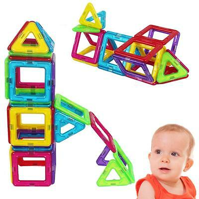 62 Pcs Magic Magnetic Building Blocks Educational Toys Set Gift for Kids Toddler