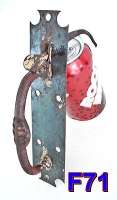 Antique THUMB LATCH Door Handle/Pull 1800's hand wrought iron *F71* • CAD $66.99