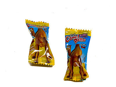 200 pieces x 5g of Camel Balls - extra sour liquid filled bubble gum