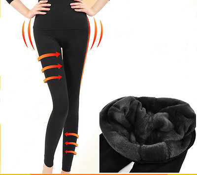 Thermo Leggings Taille Haute Extra Stretch Fitness Sport 36/s-38/m,40/l-42/xl