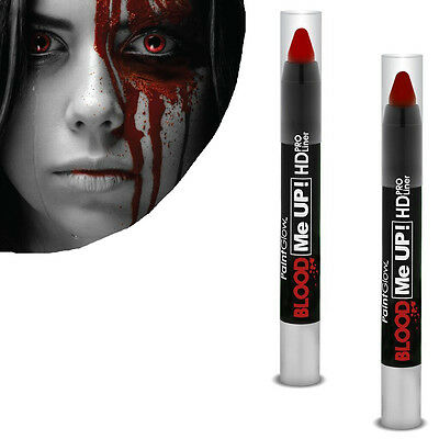 Blood Paint Liner Kunstblut Körperfarbe Blutrot Halloween Fasching Theaterfarbe
