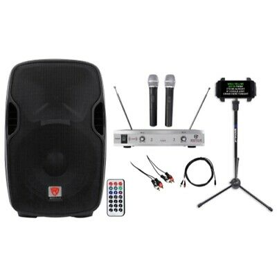 "Rockville 15"" Pro Karaoke Machine/System 4 ipad/iphone/Android/Laptop/TV/Tablet"