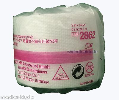 """3M 2862 Medipore H Soft Cloth Surgical Tape 2"""" x 10yd  1 Roll"""