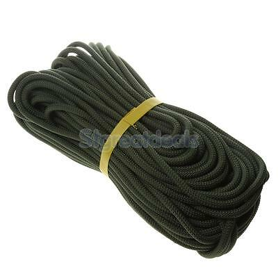 40m Rock Climbing Abseil Downhill Rappelling Auxiliary Rope Cord Equipment