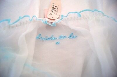 "S,m, L~Victorias Secret Bride Panty ""bride To Be"" Bikini Bridal Panties ~Nwt"