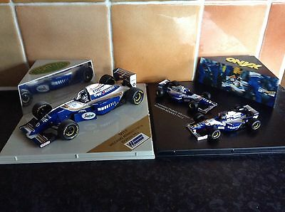 Onyx Williams Renault FW16 And FW18 - Formula One - Damon Hill - 2 Sets - 3 Cars