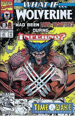 WHAT IF #37 Wolverine..VF/NM..1992 Roy Thomas ..HTF Bargain!