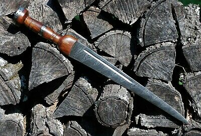 Scottish Damascus Steel Dirk Dagger Knife Celtic Short Sword Sgian Dubh