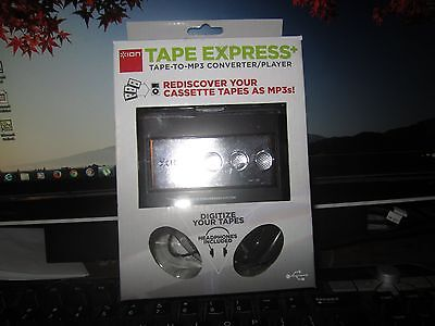 Ion Tape express Tape Express Usb Cassette Tape To Mp3 Converter