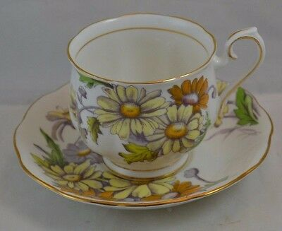 Royal Albert Flower of the Month Daisy #4 Cup and Saucer