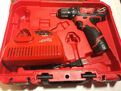 """Milwawkee 12V 3/8"""" Drill/driver 2407-20 New"""