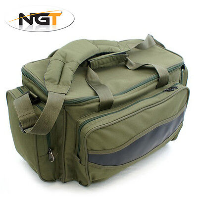 NGT New Green Carp Coarse Fishing Tackle Bag Holdall Quality Bag 75 Litres