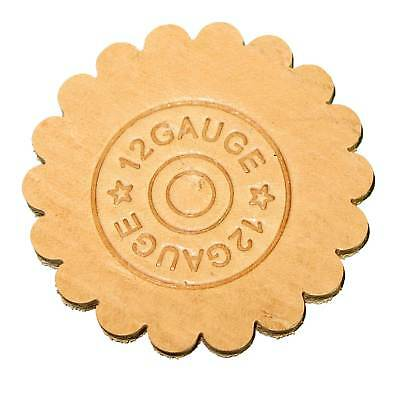 3-D Leathercraft Stamp Shotgun Shell 8664-00 Leather Embossing Stamps