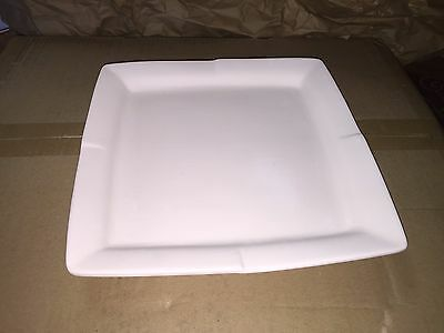 Neat Pleated Dinner Plate  Glass Fusing  kiln stained glass slump mold