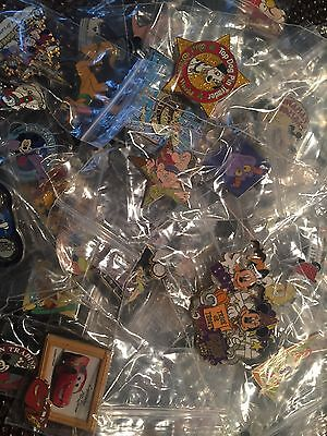 Authentic Disney Pin Trading - Lot of 10 pins!!! CAST/HM/RACK