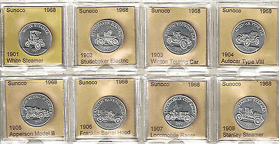 1968 SUNOCO AUTOS SERIES I COMPLETE SET of 25 UNCIRCULATED