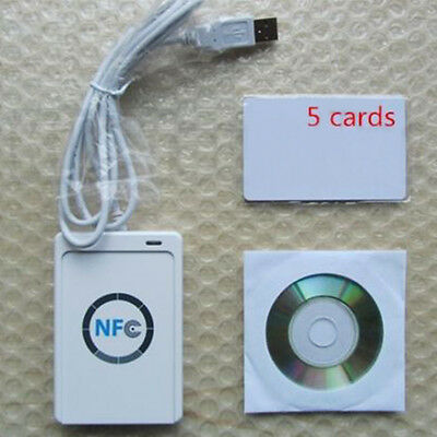 High Quality NFC ACR122U RFID Contactless Smart Reader Writer/USB SDK IC Card XC